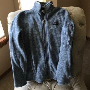 Patagonia zip up fleece